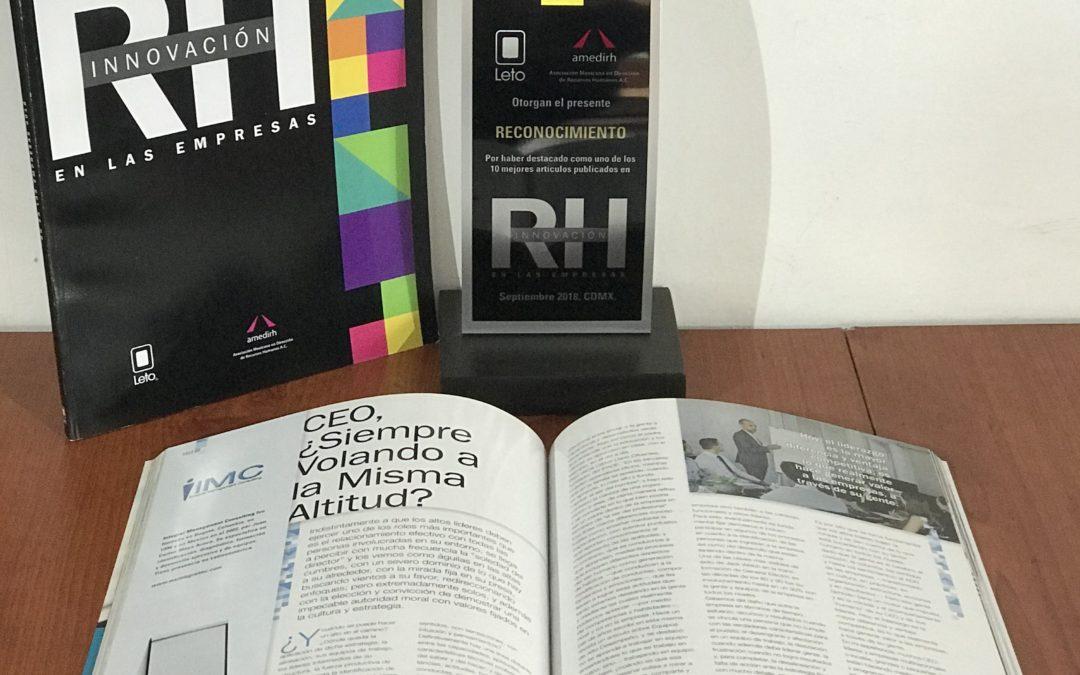 Reconocimiento AMEDIR – 2018