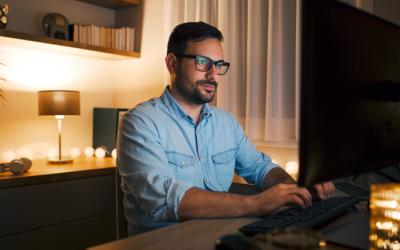 ¿Existe un lado oscuro de trabajar desde casa? Lograr la combinación adecuada de trabajo y vida